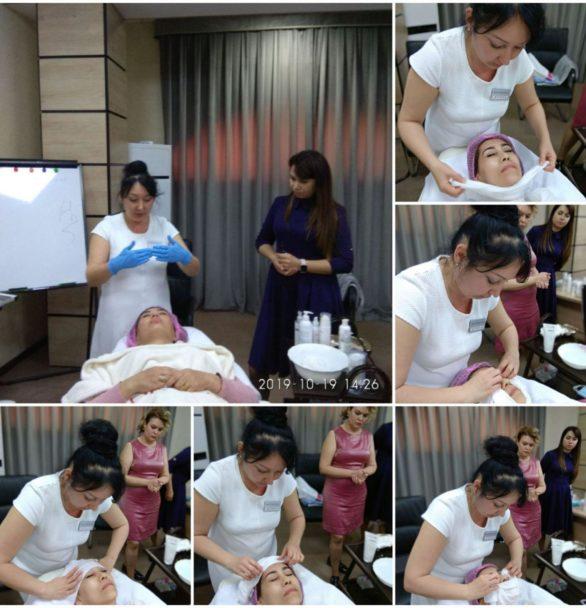 Фотоотчет семинара «Пилинг» Трансформация косметолога